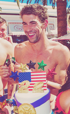 Michael Phelps' retirement party