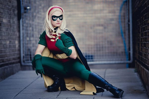 Lady Robin (Stephanie Brown) by Aigue-Marine.