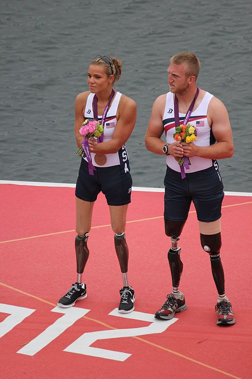 phelddagrif:  Congrats to Oksana Masters and Rob Jones for bringing home the bronze medal in the mixed doubles sculls