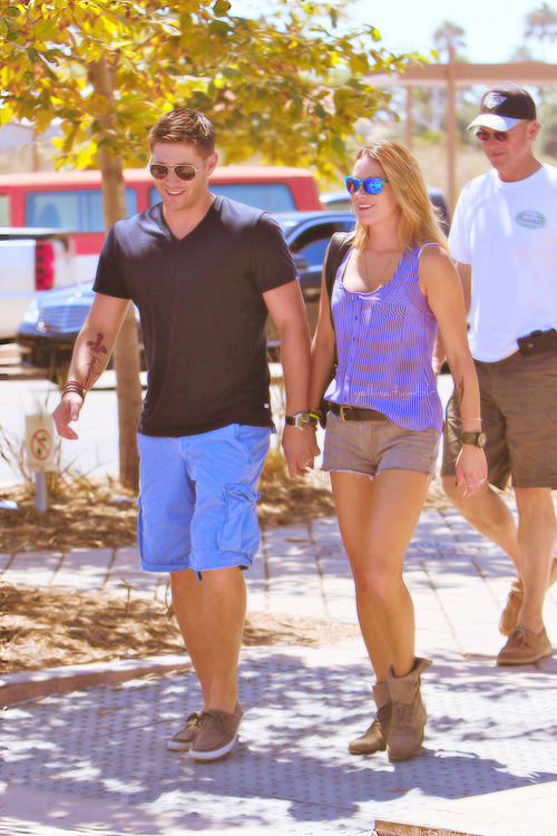Jensen and Danneel Ackles in Malibu - September 2, 2012