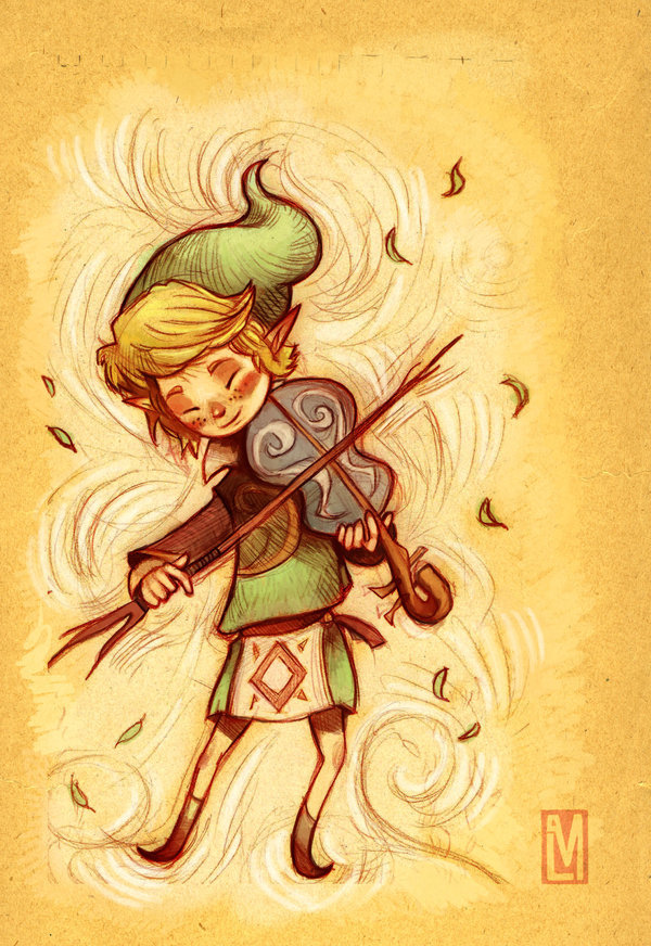 everythingzelda:  Fado: Wind Sage by ~papayashocka