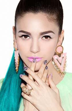 Melody Ehsani nail art available from Karmaloop