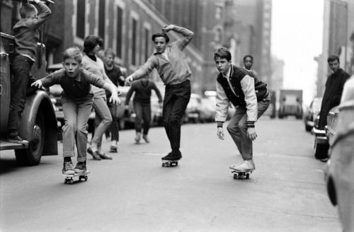 Skateboarding NYC. May 14, 1965