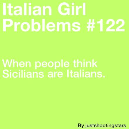 redeirovi:  ladynorthstar:  redeirovi:  italiangirlproblems:  more problems here  When they are, in fact… …some kind of mythical beast like an unicorn ? …aliens ?…Elder Gods ?  last time I checked Sicily was in Italy sweetheart…  No, you see…it's like Middle Earth or Narnia.Or Molise.A legend.I still remember grandma sitting me on her knee and telling me o a timewhere Sicilians roamed the earth,with their golden wings and shiny horns , and halos made of pizza ç..ò  Oh, it's exactly like Middle Earth. I'm half Italian and half Sicilian, that's why I'm a hobbit.