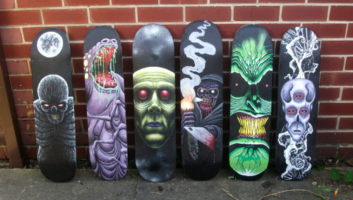 My first 6 custom boards!
