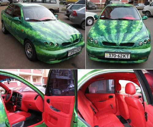 Nigger car, lol  quick-meme:  Watermelon carhttp://quick-meme.tumblr.com