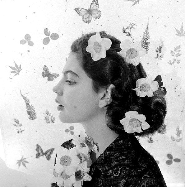 Princess Ira Von Furstenberg, 1955. Photo by Cecil Beaton.