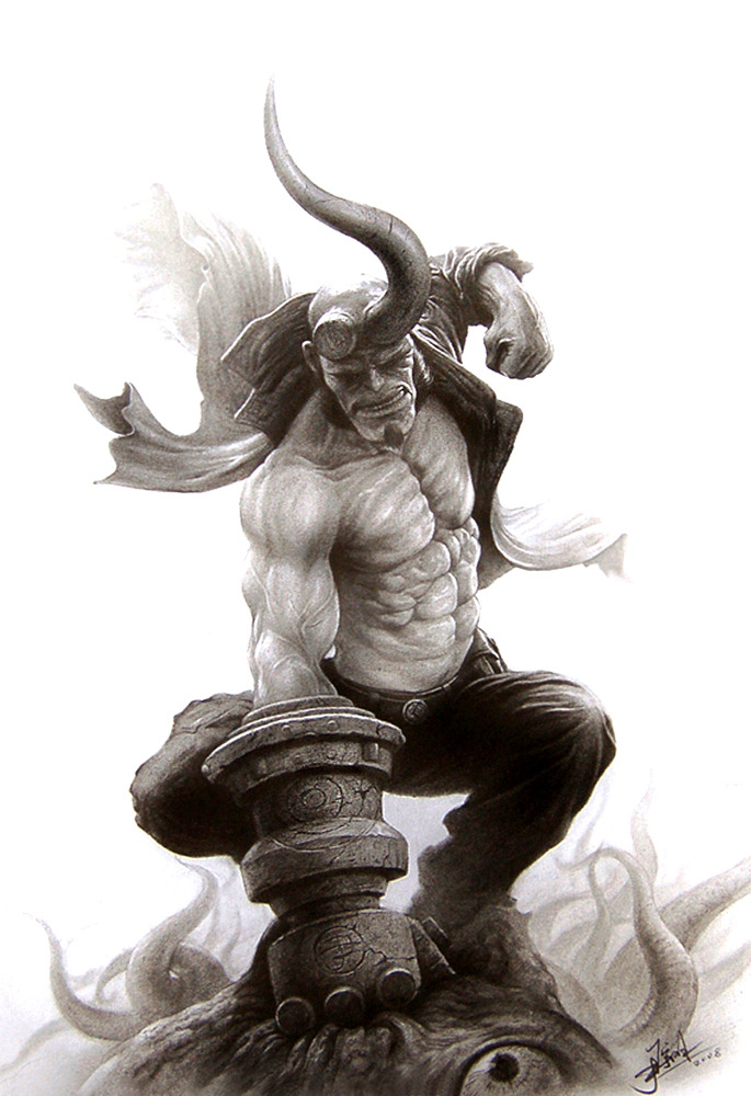 Hellboy by Yin Yuming / Blog