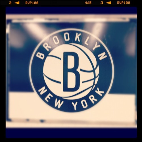 Not gonna lie, I'm pretty excited about this | #hellobrooklyn #nets (Taken with Instagram)