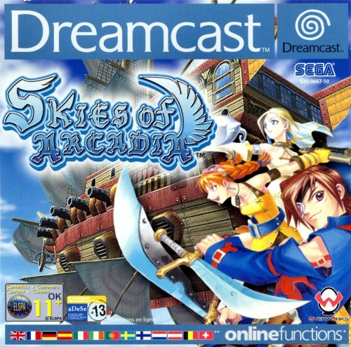 Rumor: Skies of Arcadia to be SEGA's next HD release If you owned a Dreamcast, which let's face it was an amazing console, and played RPG Skies of Arcadia then this news is going to make your day. Sega has renewed their trademark for the classic air-pirate themed RPG. It's a move that SEGA has done time and time again this generation when they have plans for bringing their classic games in glorious HD. Odds are we'll hear something about this soon, our guess is at this months TGS.