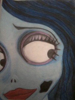 #CorpsesBride #drawing I did, I love #TimBurton
