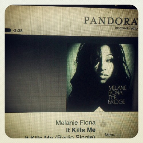 """And it kills me to know how much I really love you…."" #MelanieFiona #greatsong #pandora #intheam #goodmorning #musictomyears #eargasm #melaniefionaradio (Taken with Instagram)"