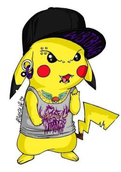 alex-cat-lover:  best Pikachu ever :D