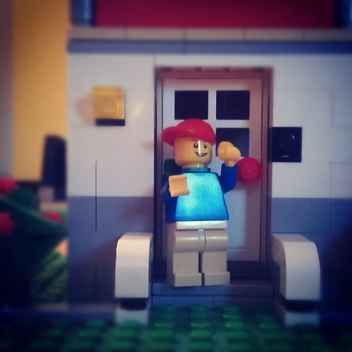 Come in my friend! #lego #minifig #minifigure #brick