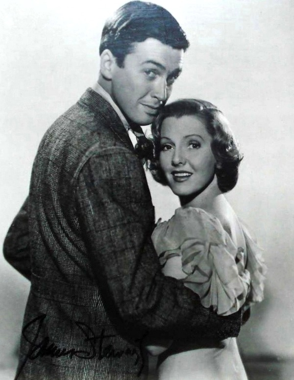 lars134:  Jimmy Stewart and Jean Arthur