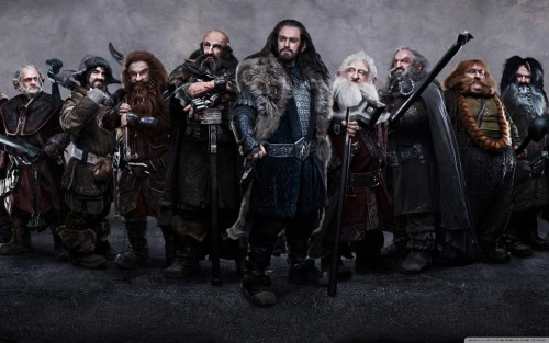 The Hobbit, Dwarves Wallpaper (« Full Size)