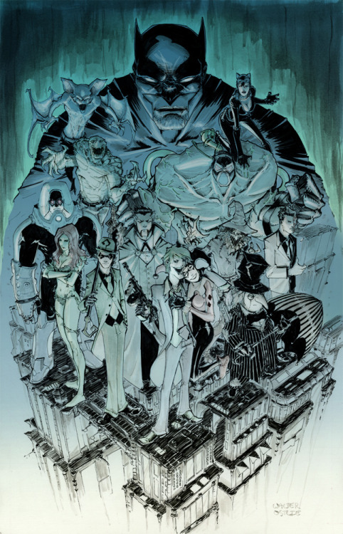 Batman Rogues Gallery by Ostlie Want more in-depth Temporal Flux? Checkout the original blog
