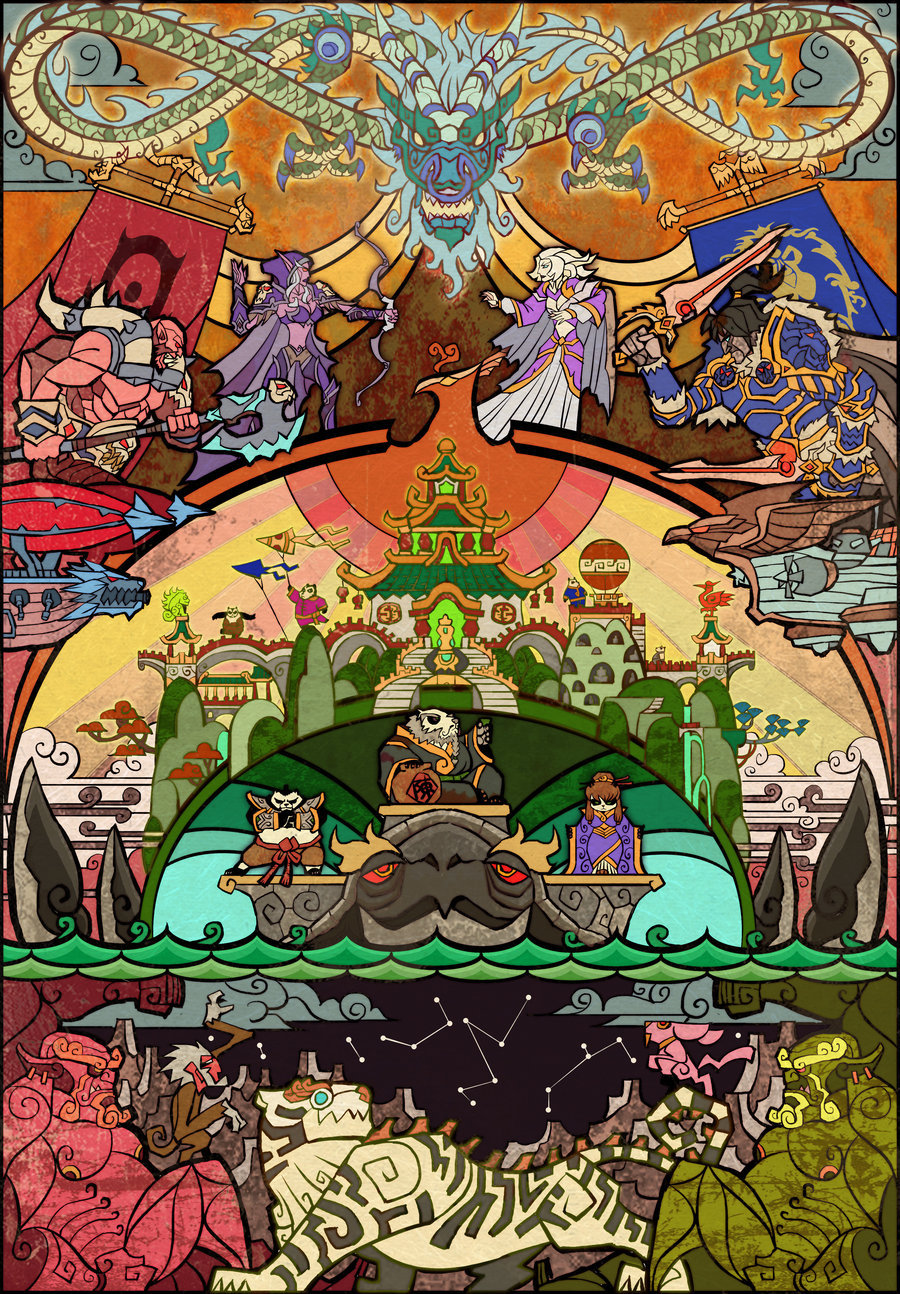 mahlibombing:  Mist of Pandaria by Jian Guo (breathing2004)