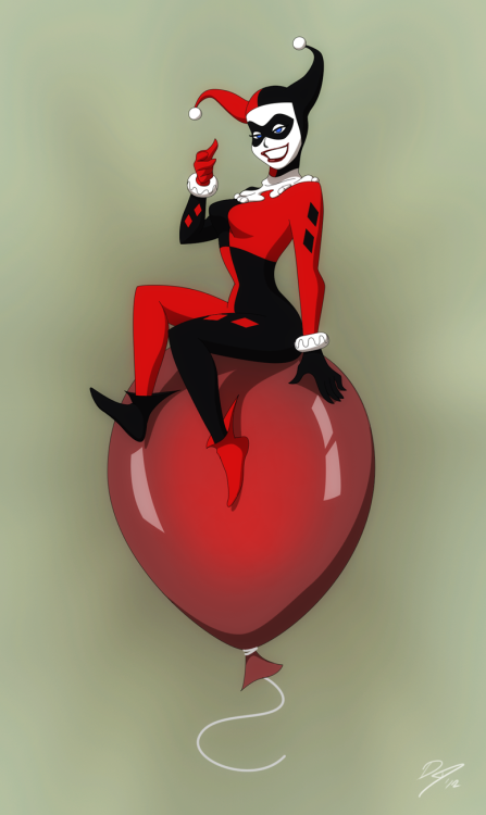 xombiedirge:  Harley's Balloon by EastCoastCanuck