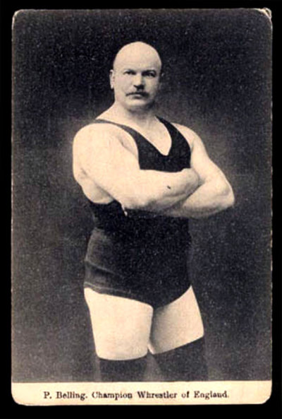 P.Belling, Champion Wrestler of England