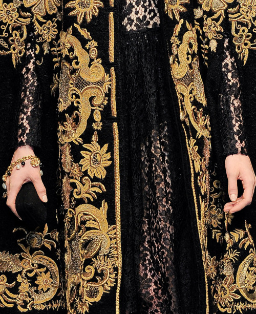 Dolce and Gabbana f/w 2012