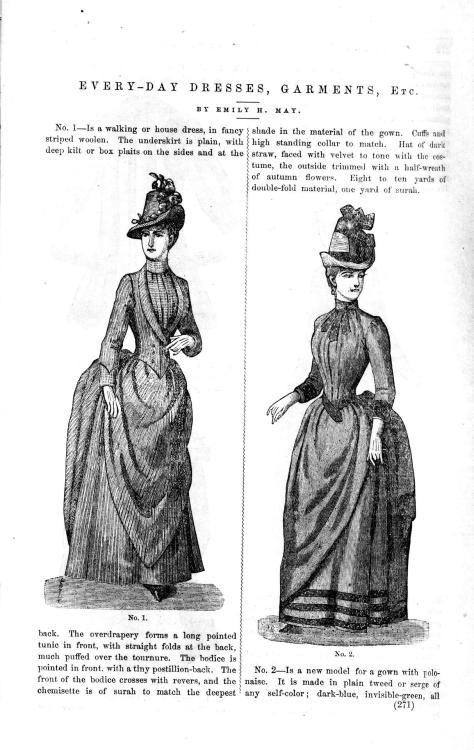 Everyday Fashions, September 1887