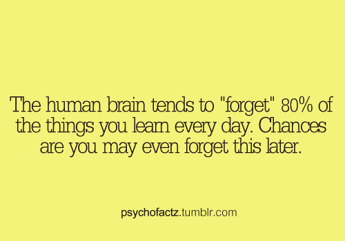 psychofactz:  More Facts on Psychofacts :)  #fact