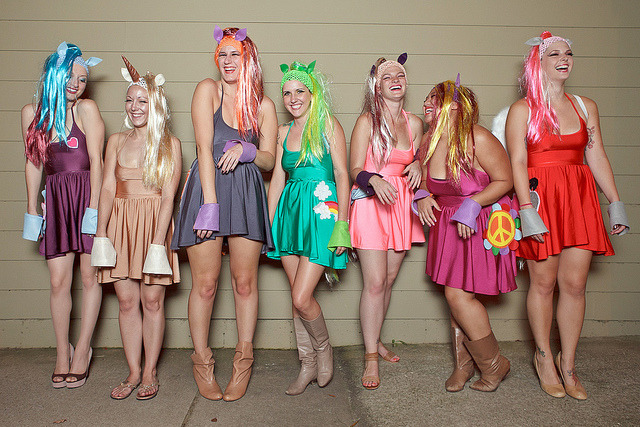 My Little Pony at Dragon*Con 2012 on Flickr.Last year they were Troll Dolls
