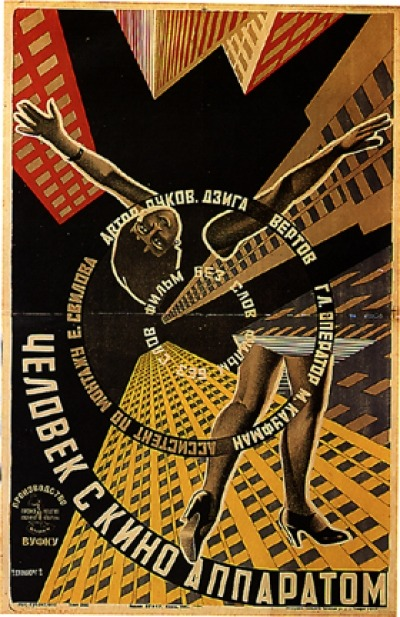 Man with a Movie Camera/Vertov/1929 Watch it here.