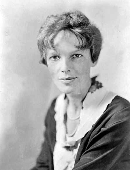 Amelia Earhart, c. 1935Amelia Mary Earhart (July 24, 1897 – disappeared 1937) was an American aviation pioneer and author. Earhart was the first aviatrix to fly solo across the Atlantic Ocean.[3] She received the U.S. Distinguished Flying Cross for this record. She set many other records, wrote best-selling books about her flying experiences and was instrumental in the formation of The Ninety-Nines, an organization for female pilots.Earhart joined the faculty of the Purdue University aviation department in 1935 as a visiting faculty member to counsel women on careers and help inspire others with her love for aviation. She was also a member of the National Woman's Party, and an early supporter of the Equal Rights Amendment.