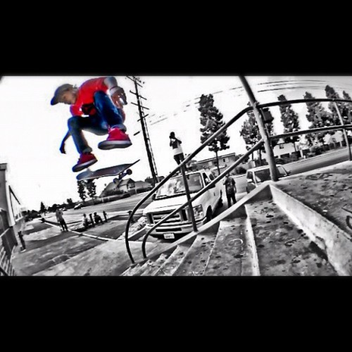 Nollie Flip_Chula 9_Axion Trip '12  #skate #skatelife #skateboarding #Tricks #Chula #Axion #Red #Mijo #Axion #ColorSplash #HDR #Bighead  (Taken with Instagram)