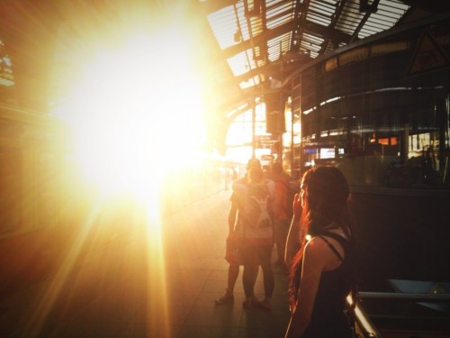 sun in Berlin by io Analoger on EyeEm