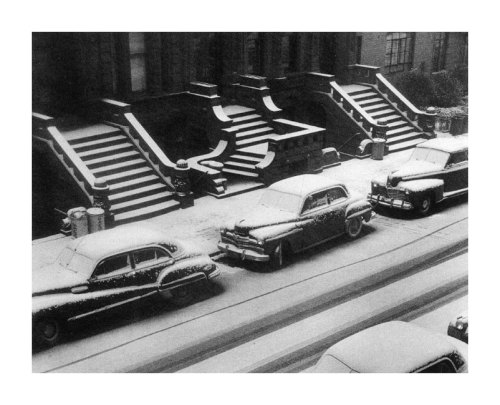 Ruth Orkin: White Stoops, NYC, 1952