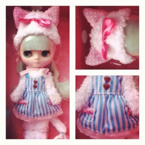 via @ frametastic #blythedoll  #melomelomew  (Taken with Instagram)
