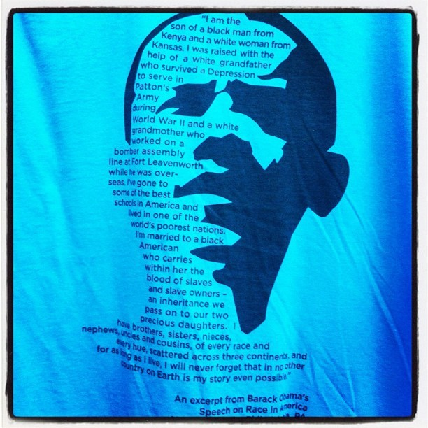 From the official store, on race (Taken with Instagram at 2012 Democratic National Convention #DNC2012)