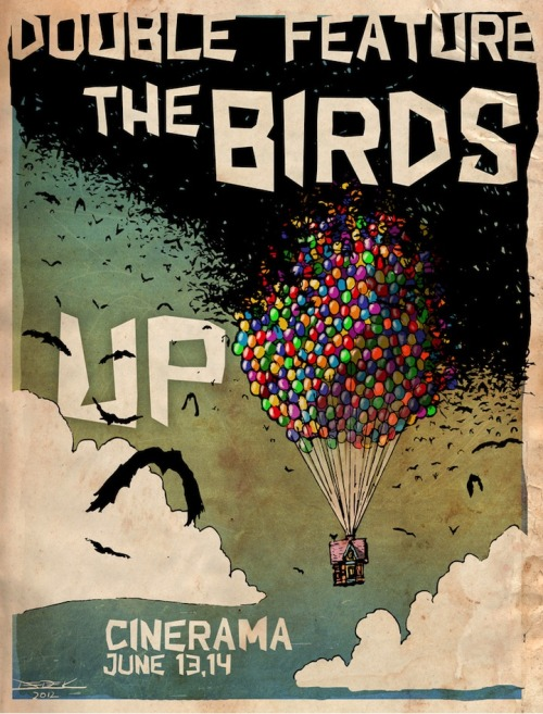 Double Feature: The Birds UP by Derek Chatwood