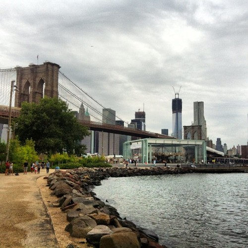 LDW - enjoy! (Taken with Instagram at Brooklyn Bridge Park - Playground)