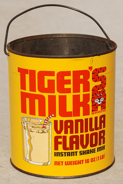 Tiger's Milk, 1960's by Roadsidepictures on Flickr.