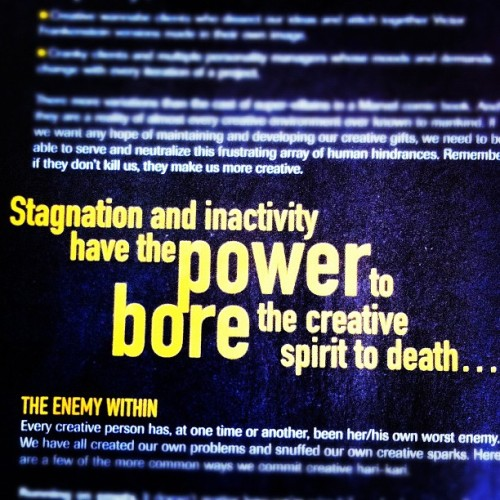The enemy within. #quotes #igers #iphoneography  (Taken with Instagram)