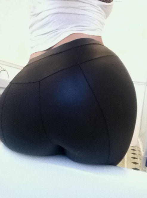 diamondteeth:  Bought some new leggings today.