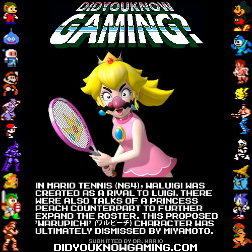 Mario Tennis.  Source.
