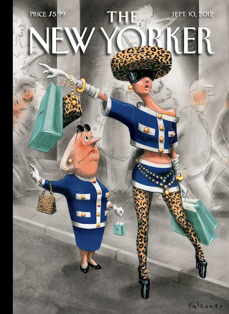 nevver:  The New Yorker  —- Fashion marches on.