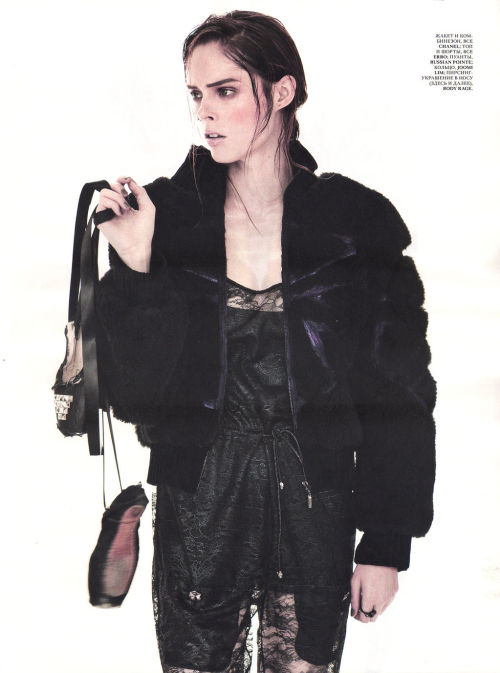 Coco Rocha by Andreas Sjodin for Interview Russia September 2012