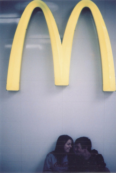 topwolff:  alerting:  this looks like the best relationship ever  mcdonalds is the third wheel. poor ronald