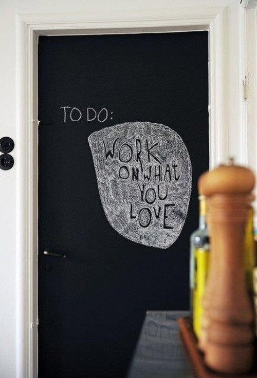 chalkboard quote (via Pinterest)