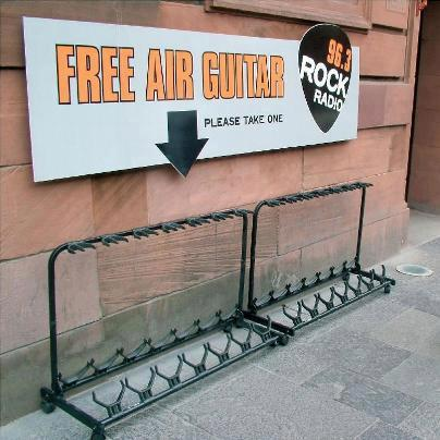 FREE air guitar giveaway!