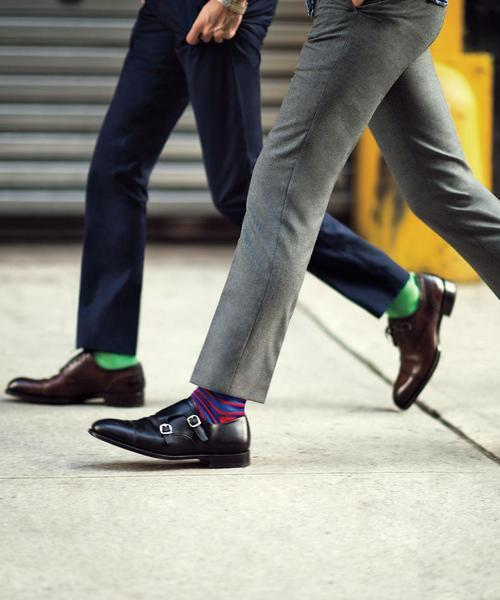 Great shoes, socks, pants length facebook.com/GentlemanF