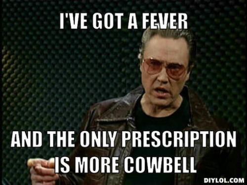 latenightjimmy:  TONIGHT ON LATE NIGHT: Walken on Cowbell.