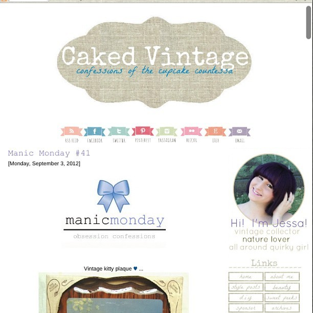Featured on @thecupcakecountessa blog! Yay! Check it out and also check out all the other vintage shops as well www.cakedvintage.com #fashion #vintage #etsy #bestofetsy #blog #featured #vintage fashion  (Taken with Instagram)