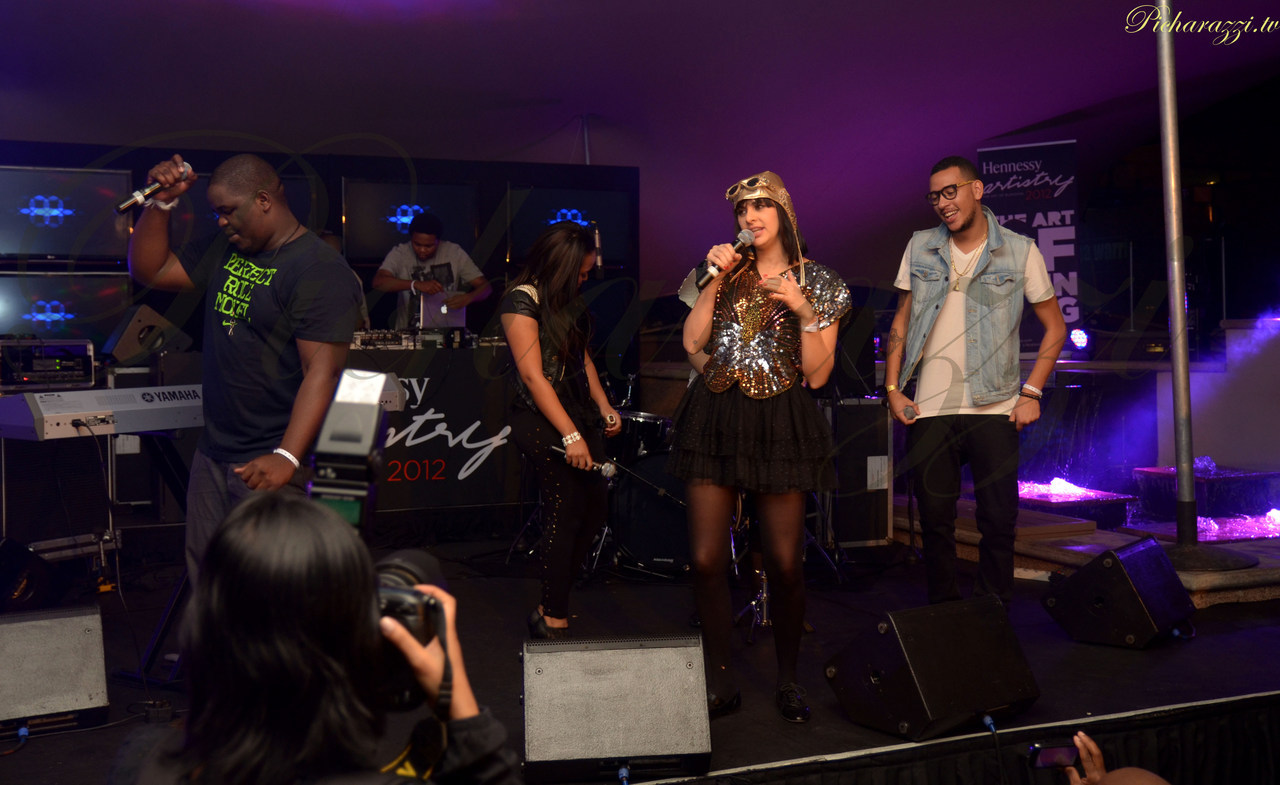 Hennessy Artistry Halo Concert captured by @picharazzi